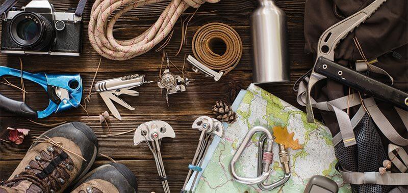 hiking gears