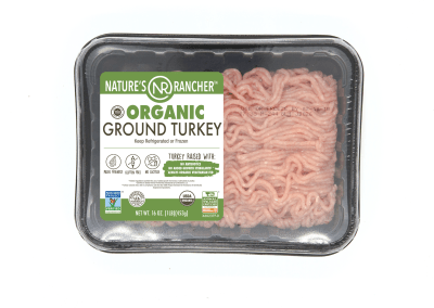 All Natural Organic Ground Turkey 93/7