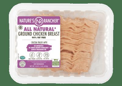 ALL NATURAL GROUND CHICKEN BREAST