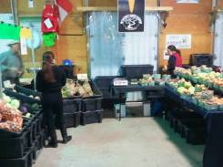 Week 2 at the Dieppe Market with Kerri and Tara.