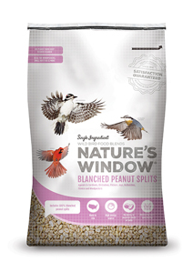 Image of Nature's Window Blanched Peanut Splits - Front View