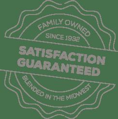Image of Nature's Window Satisfaction Guaranteed Seal