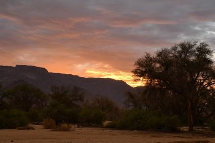 Brandberg-at-sunset