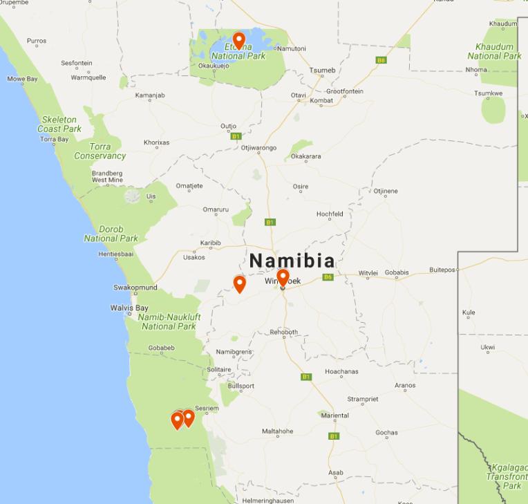 NAMIBIA GETAWAY