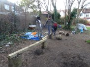 First Free forest school after school activity for Granton primary school children Lambeth-4