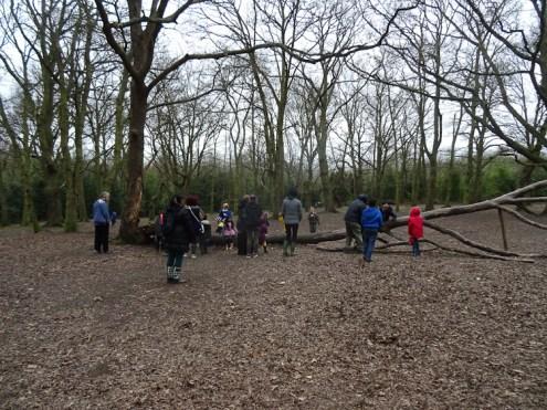 Forest School activity Fern Lodge Estate Streatham Common Lambeth-4