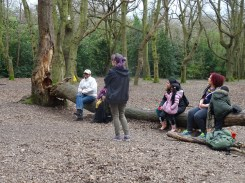 Forest School activity Fern Lodge Estate Streatham Common Lambeth-7
