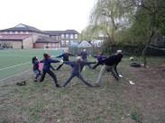 Second forest school after school activity for Granton primary school children -7