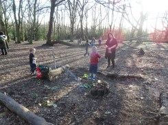 Second free forest school after school activity at Fern Lodge Estate Lambeth-3