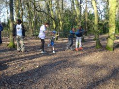 Second free forest school after school activity at Fern Lodge Estate Lambeth-4