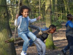 Second free forest school after school activity at Fern Lodge Estate Lambeth-5