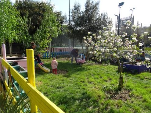 1st Forest School pre-school activity at Lollard St Adventure Playground-1