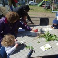 1st Forest School pre-school activity at Lollard St Adventure Playground-5