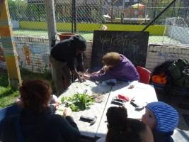 1st Forest School pre-school activity at Lollard St Adventure Playground-6