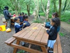 Forest School after school Lambeth London primary school-4