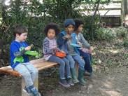 Free family nature activity Knights Hill Wood Lambeth London-19
