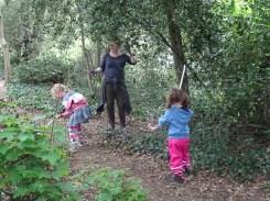 Free family nature activity Knights Hill Wood Lambeth London-2