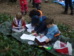 Free family nature activity Knights Hill Wood Lambeth London-5