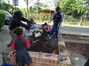 Free Fern Lodge Lambeth Forest School after school children gardening activity-6