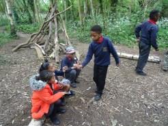 Granton Primary school after school forest school Lambeth London-11