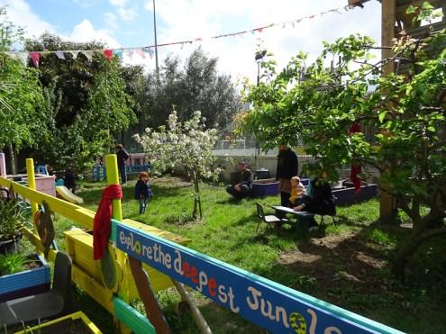 Lollard St Adventure playground free pre-school forest school Lambeth Kennington London-1