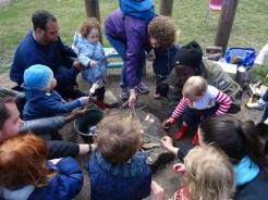 Lollard St Adventure playground free pre-school forest school Lambeth Kennington London-7
