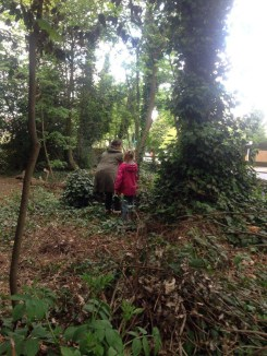 Nature Conservation Knights Hill Wood Lambeth London -7