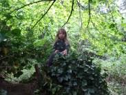 free family nature activity Knight Hill Wood Lambeth London-13