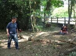 free family nature activity Knight Hill Wood Lambeth London-8