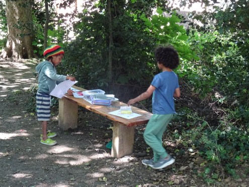 Free family nature activity Knights Hill Wood West Norwood Lambeth London-1