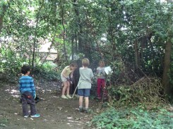 Free family nature activity Knights Hill Wood West Norwood Lambeth London-5