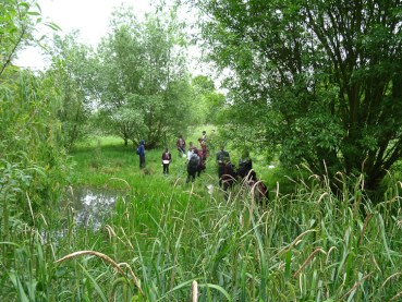 Pond dipping st Josephs College Norwood Park Lambeth London-4
