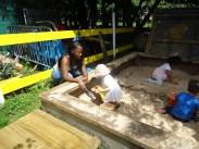Pre-school free activity Lollard St Adventure Playground Kennington Lambeth London-11