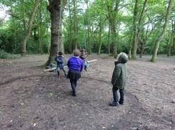 Free after school children Forest School club Lambeth London-3
