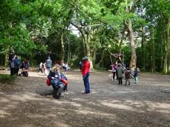 Free after school children Forest School club Lambeth London-5