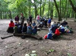Free after school children Forest School club Lambeth London-7