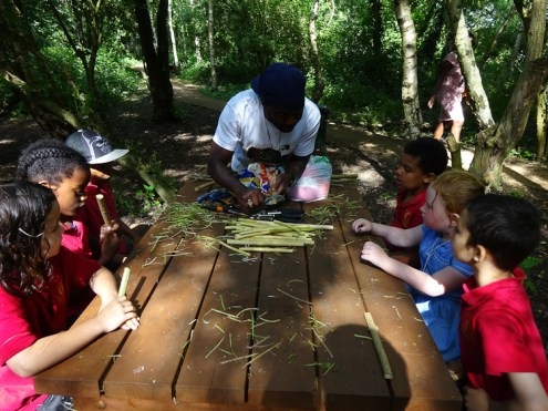 Free After School Forest School Granton Primary Lambeth London-8