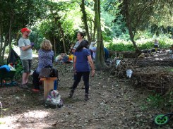 Free Family Forest School Knights Hill Wood Lambeth London-3
