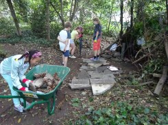 Free Family Forest School Knights Hill Wood Lambeth London-5