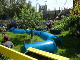 Free Family Forest School Lollard St Adventure Playground Lambeth London-6