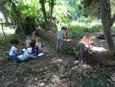 Free family nature Knights Hill Wood West Norwood Lambeth London-11