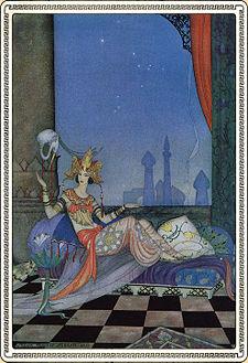 Shéhérazade avait lu des livres et des écrits de toutes sortes...