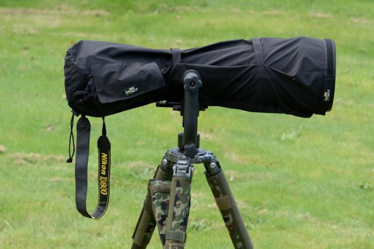 Lens coat på en 600 mm