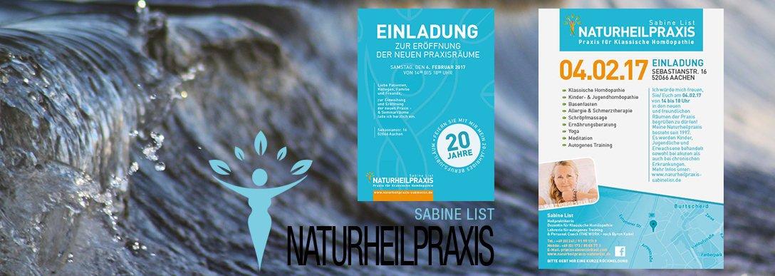 Naturheilpraxis Aachen Eröffnung