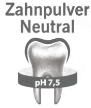 Zahnüpulver Neutral Natur Hurtig
