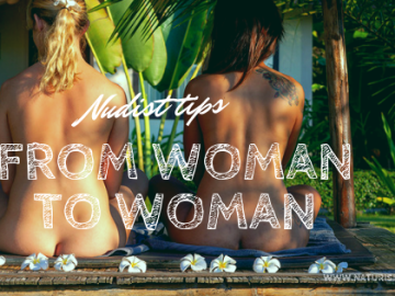 nudist tips from woman to woman