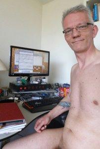 writing in the nude