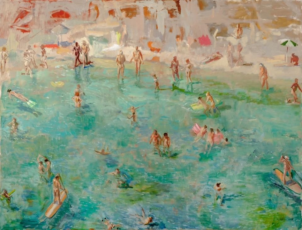 Grant Drumheller, Spiaggia Nudista