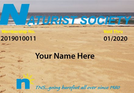 TNSF Membership Card