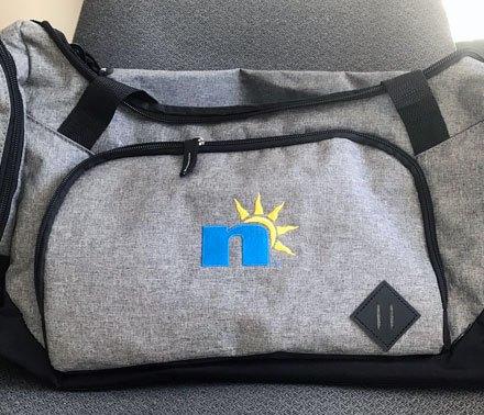 Duffel Bag w/ n Logo
